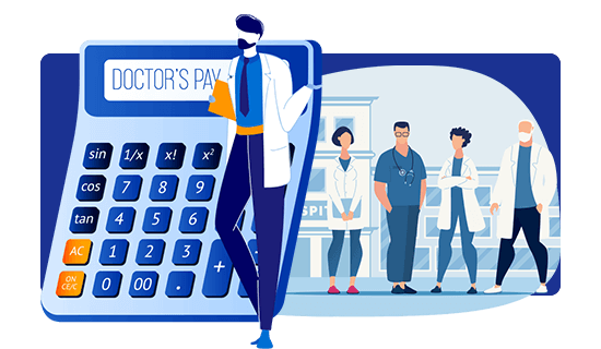 Unique Doctors Pay Calculator™